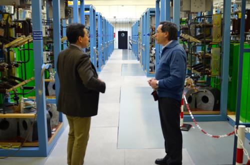 2015年3月4日 ドレスデン強磁場センターを訪問