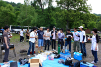 06JUL2010 物理学科遠足 @ 支笏湖