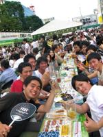 06AUG2010 ビアガーデン @ 大通公園