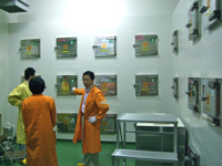29JUN2011 日本原子力研究機構 大洗研究センター 「貯蔵室」内