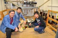 13NOV2011 62テスラパルスマグネットの前にて @ドレスデン強磁場研究センター