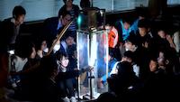 18OCT2018 出前授業「ヘリウムの超流動実験」 @ 小樽潮陵高校