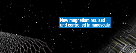 New magnetism realised and controlled in nanoscale