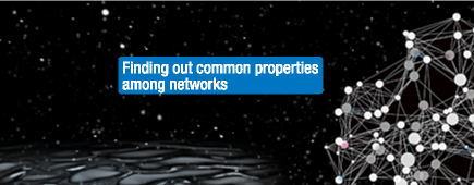 Finding out common properties among networks
